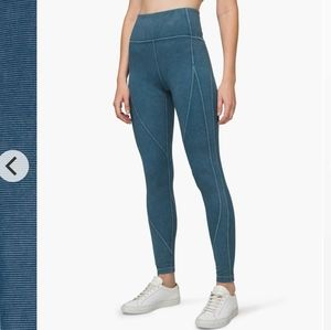 Lululemon Wunder under ribbed sz4 night diver